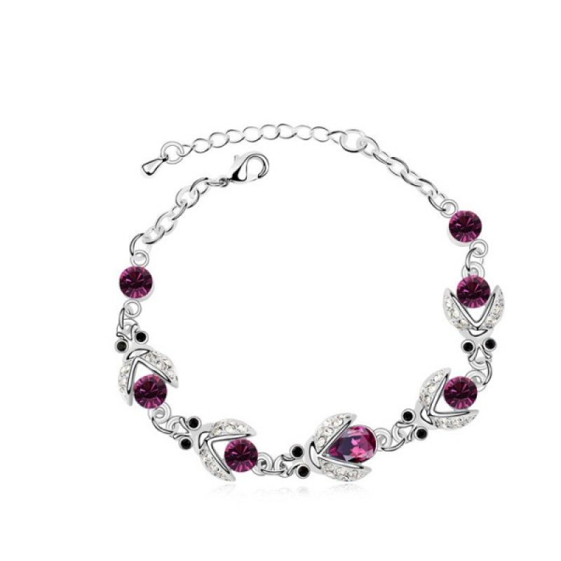 Amethyst Beatles Eye-Catching Bracelet