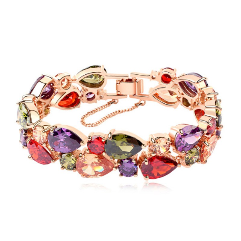 Arabian Dreams  A Grade,  Mona Lisa Coloured Crystal Bracelet