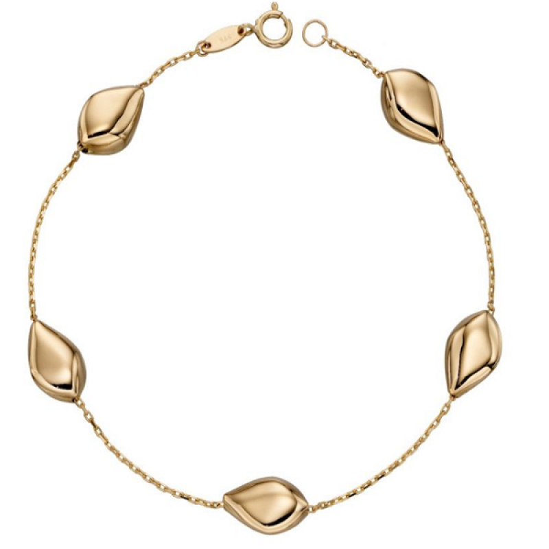 New Collection Multi Pebble GOLD Bracelet