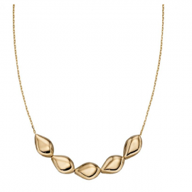 New Collection Multi Pebble GOLD Necklace