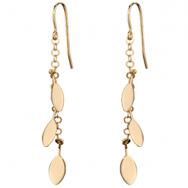 GOLD LEAVE EARRINGS