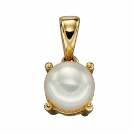 JUNE PEARL BIRTHSTONE PENDANT