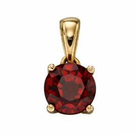 GOLD JAN GARNET BIRTHSTONE