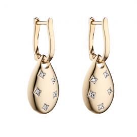 New collection Starburst Set Diamond Earrings