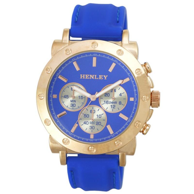 Henley Ladies Fashion Silicon Strap Watch