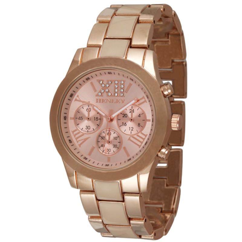 Henley Ladies Enamel Fashion Watch