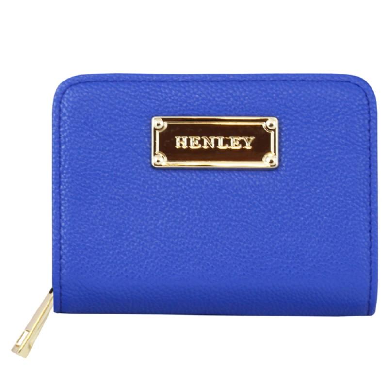 Henley Ladies Chic Purse Cobalt Blue
