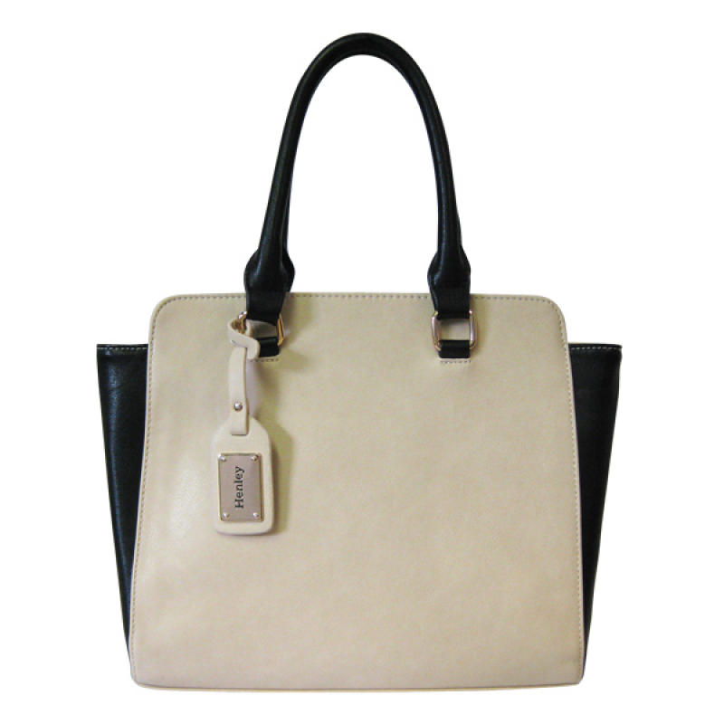Henley Taylor Bag Cream & Black
