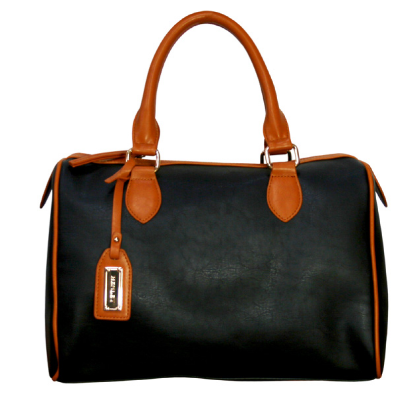 Henley Brittany Bag - Black/Tan