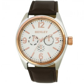 Henley Gents Fashion Watch Brown / Rose Gold
